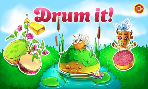 Drums for Toddlers, Kids - Music Game with Animals