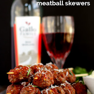 Moscato Meatball Skewers