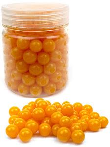 Гидрогелевые шарики L, в банке, желтые