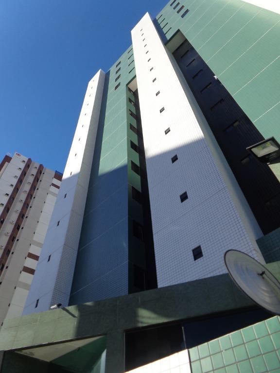 Apartamento com 3 dormitórios para alugar, 89 m² por R$ 1.300/mês - Manaíra - João Pessoa/PB