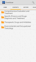 Screenshot of Poisoning and Drug Overdose