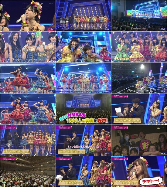 (TV-Music)(1080i) NMB48 Part – Music Japan 150719