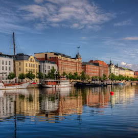 Helsinki Postcard by Bojan Bilas - City,  Street & Park  Vistas
