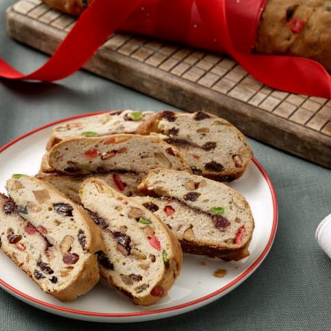 Traditional Stollen Bread