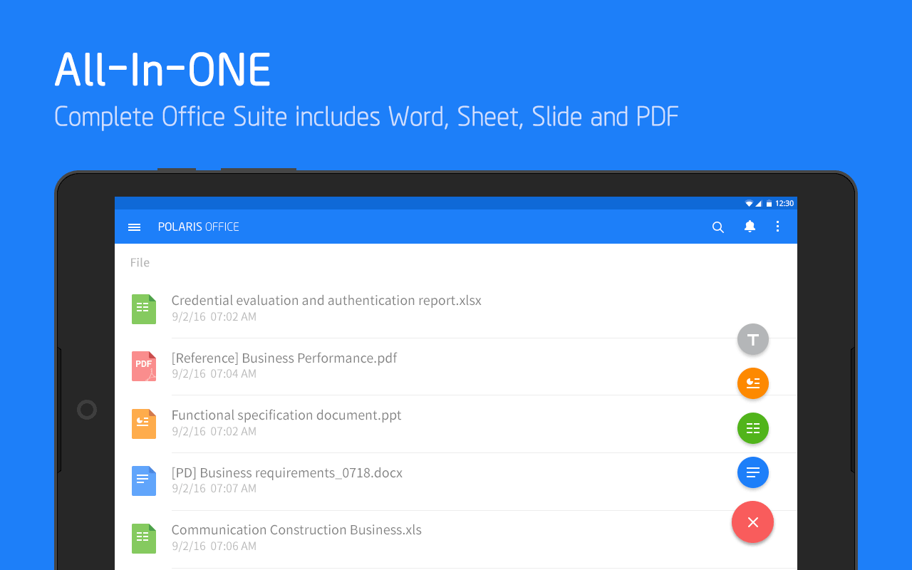 Polaris Office - Word, Docs, Sheets, Slide, PDF Screenshot 8
