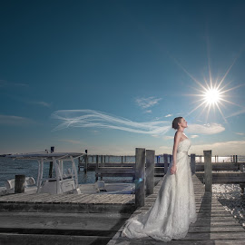 Time to enjoy the breeze in Houston! by Henry Wang - Wedding Bride ( wedding photography, bridal portrait, wedding, houston, henry wang )