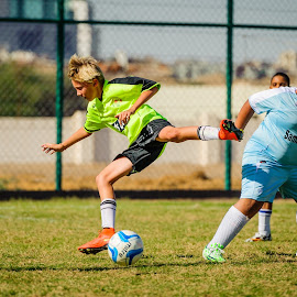 solid defense by Sanjoy Sengupta - Sports & Fitness Soccer/Association football ( #muscat, #nikon, #oman club, #football, #nikon middle east, #kids, #oman, #mcfl, #mcfl 2015,  )