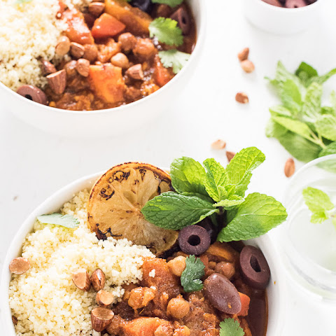 Vegetarian Crock Pot Moroccan Tagine