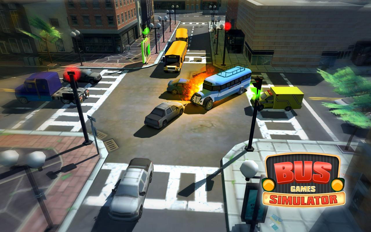 Bus Spiele Simulator android spiele download