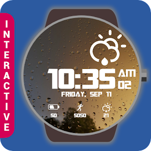 Real Weather Watch Face