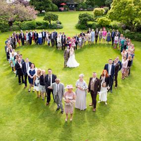 Group love  by Kain Dear - Wedding Groups ( love, heart, sunny, wedding, party, bride, groom )