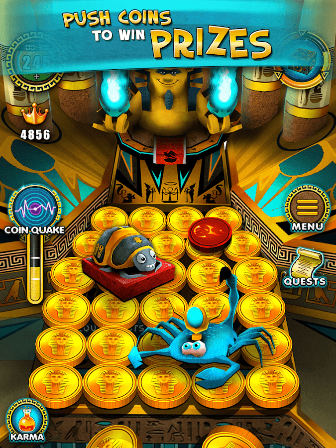 Pharaoh's Party: Coin Pusher Screenshot 12