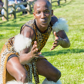 Zulu nation by Kellee Wright - People Musicians & Entertainers ( male, costume, candid, portrait, man, entertainer, dancer )
