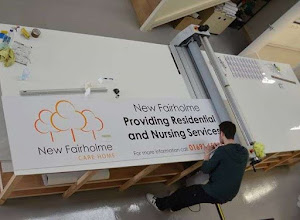 Business sign printing