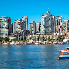 The City Of Vancouver by Joseph Law - City,  Street & Park  Vistas