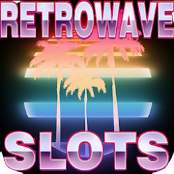Retrowave neon slots