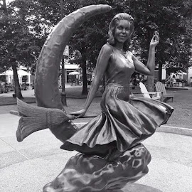 Samantha from Bewitched by Heidi George - Buildings & Architecture Statues & Monuments