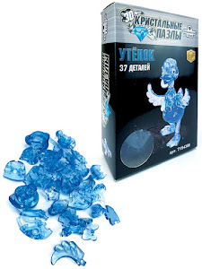 3D Crystal Puzzle Утенок L New