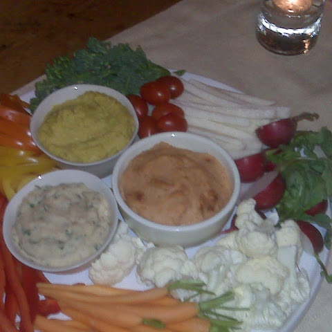 3-Way Dip with Crudités