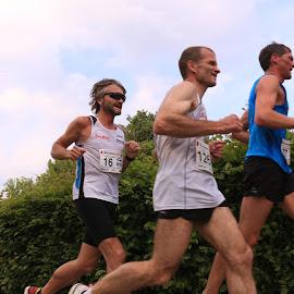 City Running in Zwettl 6 by Franz  Adolf - Sports & Fitness Running ( boys, sports, running )