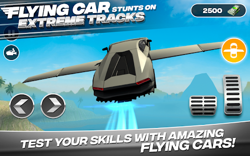 Flying Car Stunts On Extreme Tracks for pc
