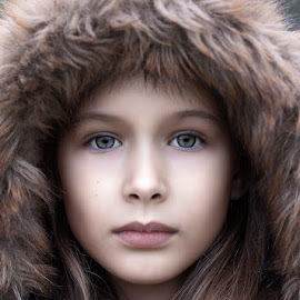 Marta by Ivan Stulic - People Portraits of Women ( face, marta, hood, portrait, eyes )