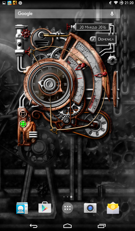XtraOClock Steampunk Widget Screenshot 16