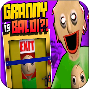 Baldi is Scary Granny (Mod) For PC / Windows 7/8/10 / Mac – Free Download