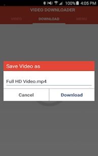 Free Download Video Downloader Pro APK for Samsung