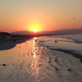 Golden dawn by Francisco Little - Landscapes Beaches ( sunrise )