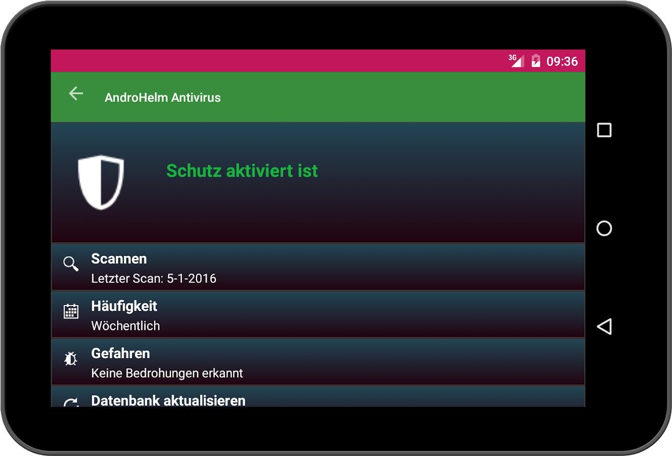 Virenschutz Android 0017 – Screenshot