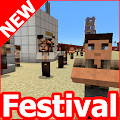 New music festival map MCPE APK for Bluestacks