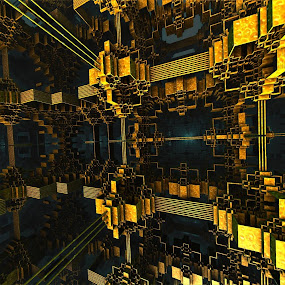 by Ricky Jarnagin - Uncategorized All Uncategorized ( abstract, mandelbulb, dsynegrafix, 3d art, fractal )