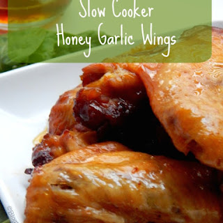 Slow Cooker Honey Garlic Wings