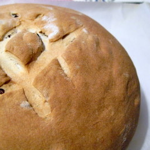 Grape and Raisin Bread