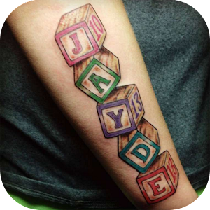 Download Android App Name Tattoo Design Ideas for Samsung ...