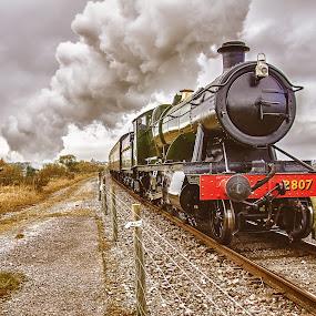 Great Western by Natalie Houlding - Transportation Trains ( railway, steam train, rail, train )