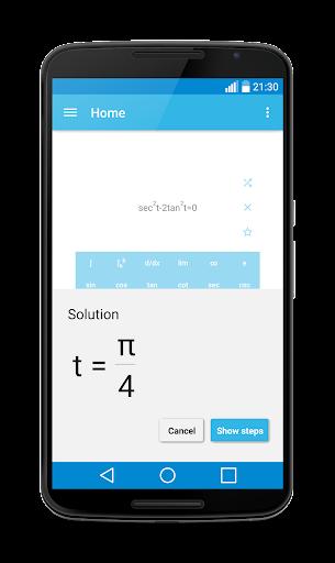 MalMath: Step by step solver screenshot 3