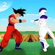 Goku Saiyan real battle Z