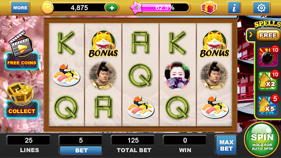 Sakura Slots - screenshot