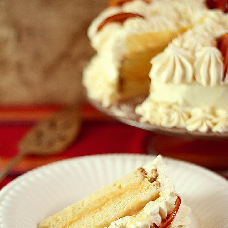 Ricotta Pound Cake with Blood Orange Filling, Whipped Cream Mascarpone ...