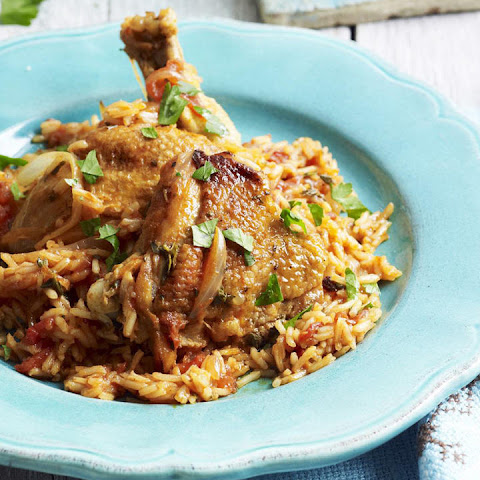 North African Chicken with Rice Pilaf
