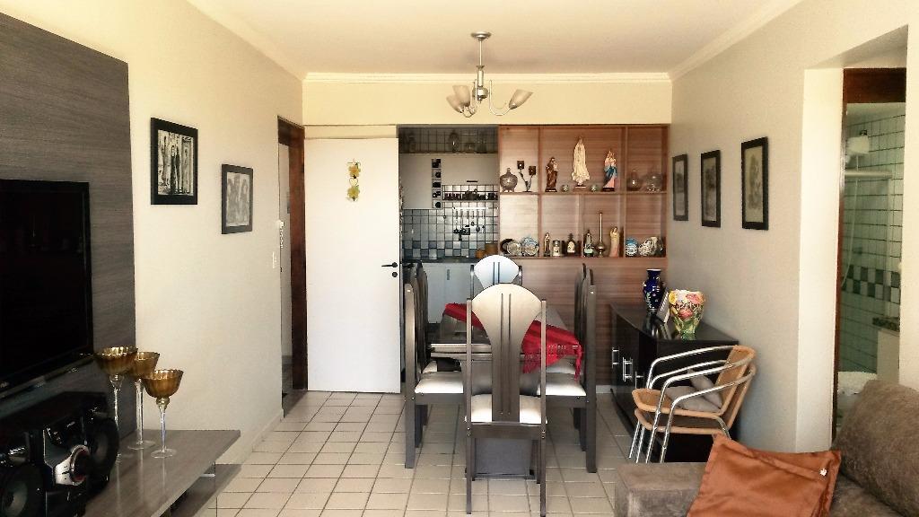 Apartamento com 3 dormitórios à venda, 93 m² por R$ 230.000,00 - Intermares - Cabedelo/PB