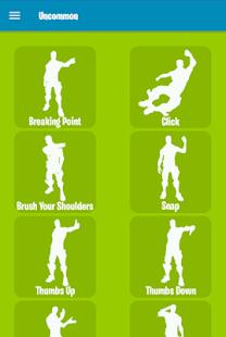 All Fortnite Dance Emotes for pc