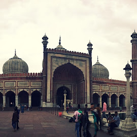 HISTORIC PLACE by Piyush  Rai  - Buildings & Architecture Places of Worship ( lights, weather, historical, people, panorama )