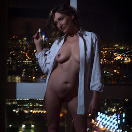 The City by Frank DeChirico - Nudes & Boudoir Artistic Nude