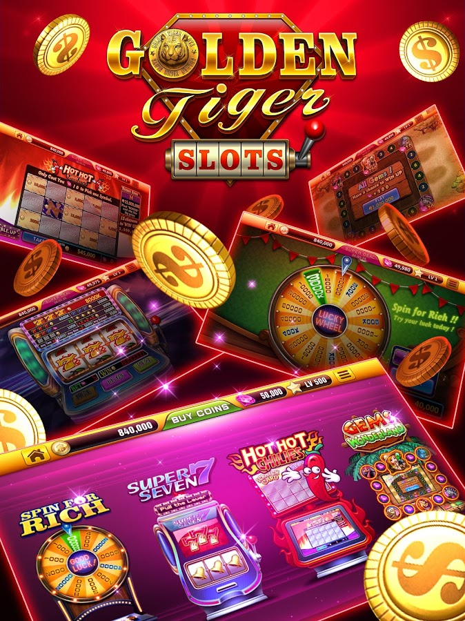 Golden Tiger Slots- free vegas Screenshot 19