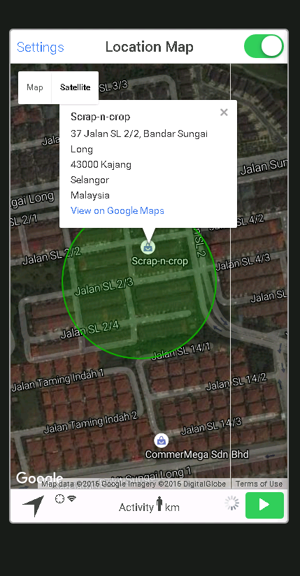Go Location Screenshot 3
