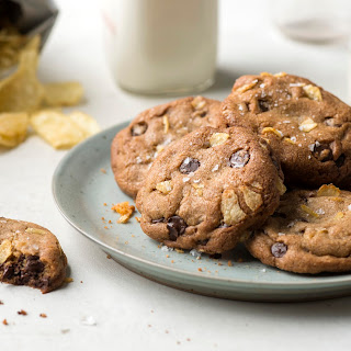 An Extra-Crispy Chocolate Chip Potato Chip Cookies