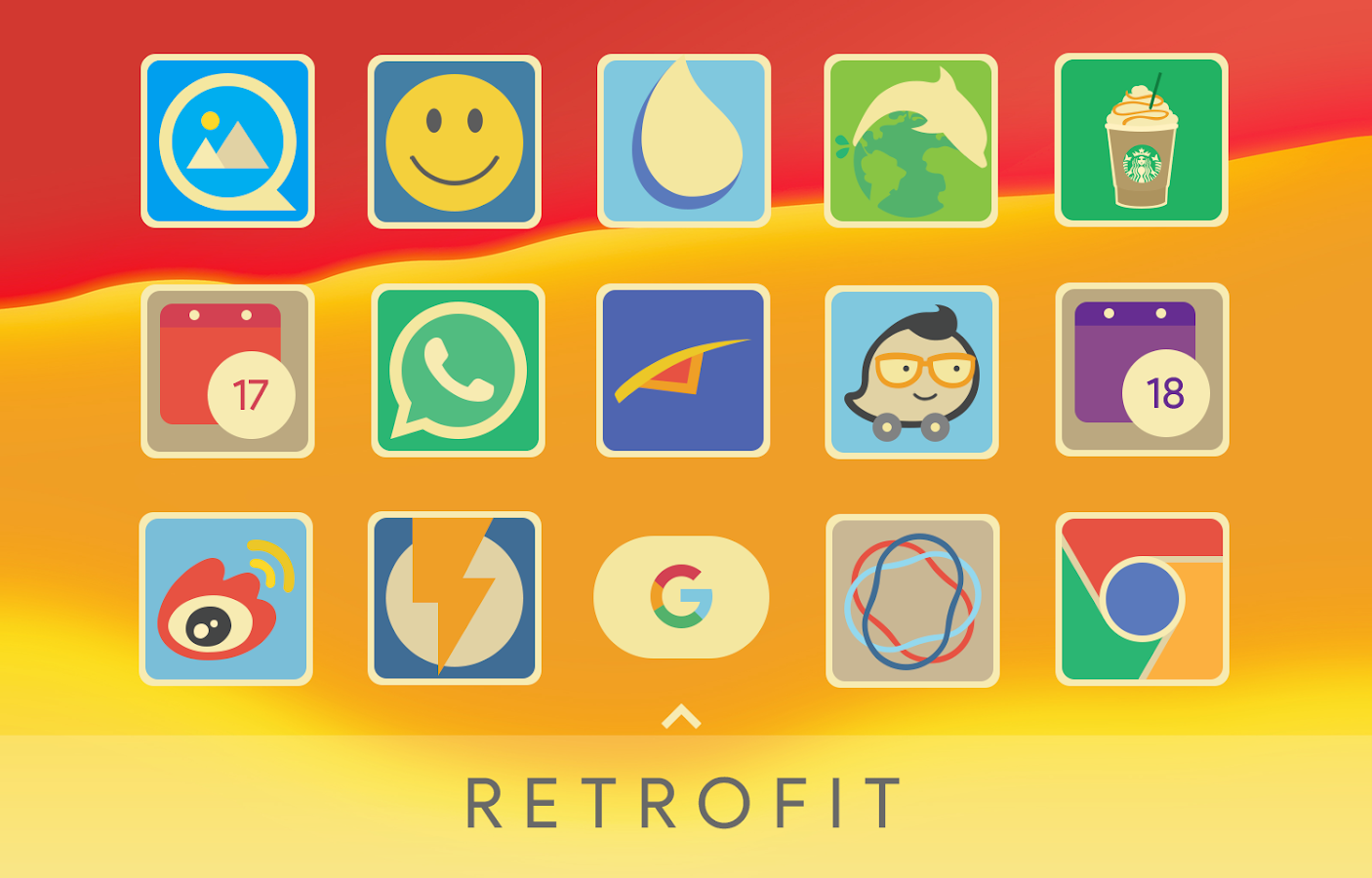 Retrofit Icon Pack Screenshot 1